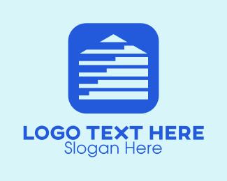 Housing Loan - House Construction Development App logo design