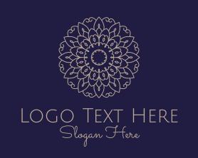 Beauty - Elegant Flower Mandala logo design