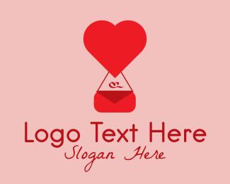Girlfriend - Heart Fashion Purse  logo design