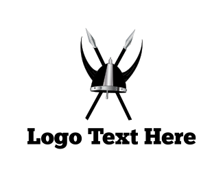 Helmet - Viking Clan Helmet logo design