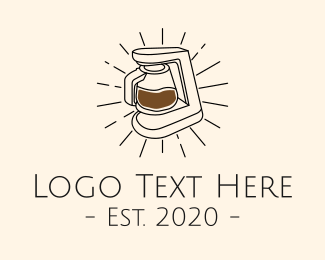 Carafe - Brewed Coffee Maker logo design