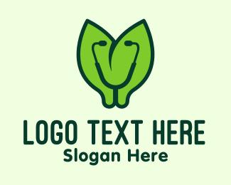 Medical Equipment - Green Natural Medication logo design