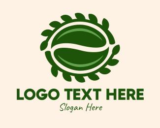 Green Seed Leaves Logo