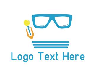 Geek - Geek Glasses logo design