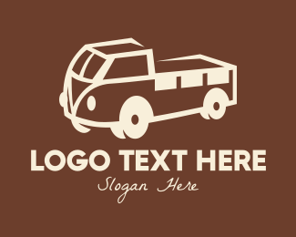 Country Truck - Vintage Farm Truck logo design