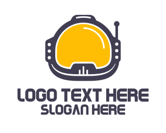 Expedition - Astronaut Helmet logo design