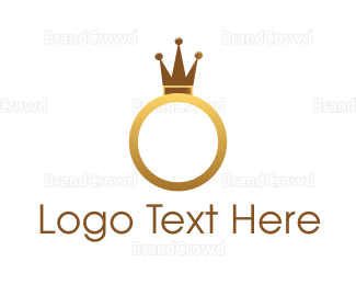 Ring - Royal King Ring logo design