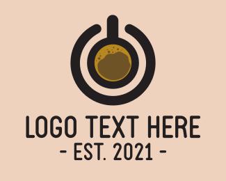Hot Choco - Power Coffee Brewery logo design