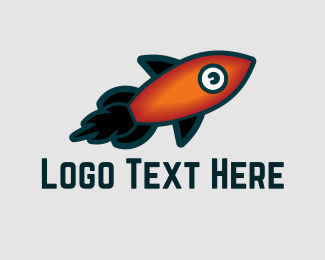 Innovation - Aqua Rocket logo design