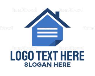 Website - Home Note logo design