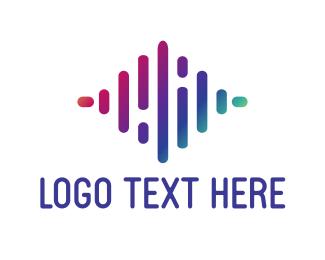 Beat - Sound Waves logo design