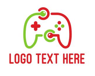 Remote - Game Network logo design