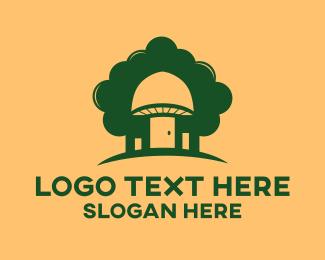 Fungi - Mushroom Forest logo design