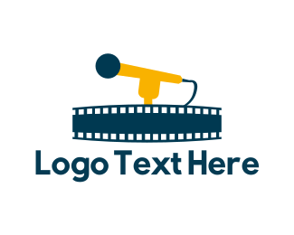 Cinematography - Musical Film logo design
