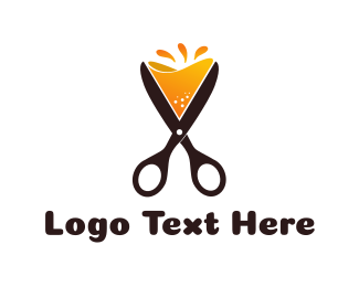 Gastro - Cocktail Scissors logo design