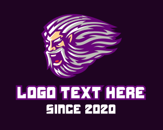 Man - Esports Man Mascot logo design