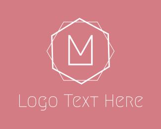 Showroom - Minimalis M Emblem logo design