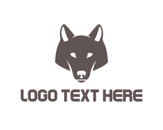 Illustration - Wolf Head logo design
