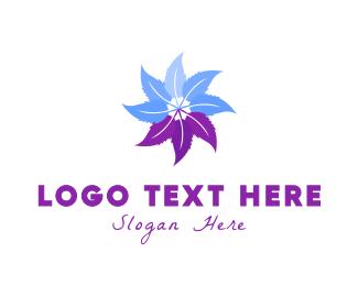 Aromatherapy - Hybrid Flower logo design