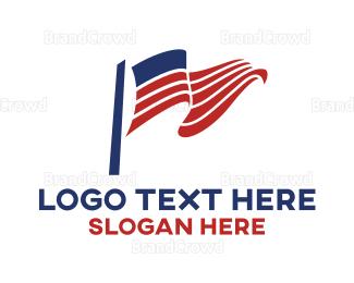 American Flag - American Flag logo design