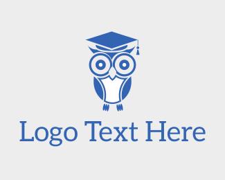 Wise Educated Owl Logo