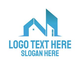 Estate Agency - Building Letter N logo design