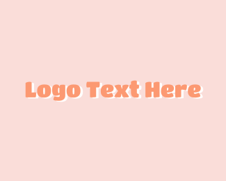 Artsy - Cute Wordmark logo design
