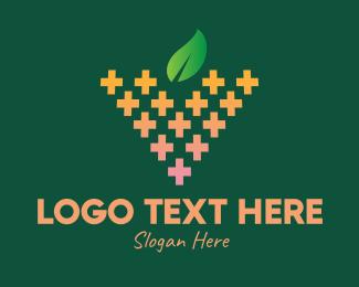 Healer - Natural Fruit Medication logo design
