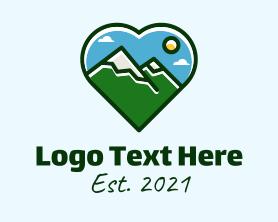 Hiking - Mountain Hike Lover logo design