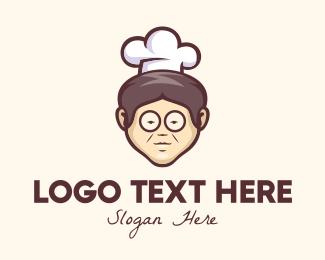 Chef - Grandma Chef logo design