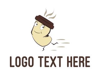 Sprint - Fast Coffee logo design