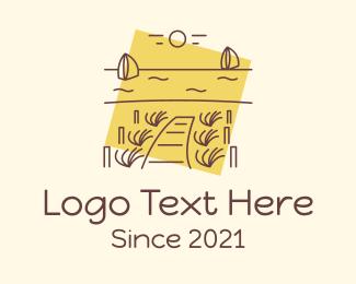Dock - Seaside Dock  logo design