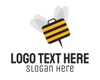 Briefcase - Bee Briefcase logo design