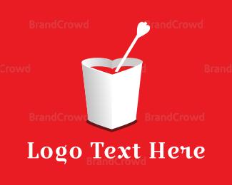 Cup - Love Cup logo design