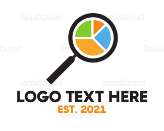 Search - Chart Search logo design