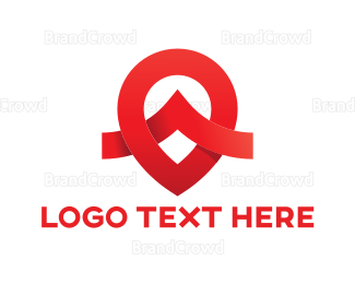 Moscow - Red Pin logo design