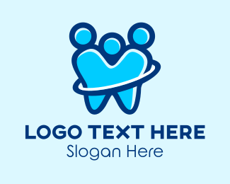 Toothpaste - Dental People  logo design