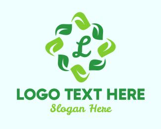 Evergreen - Organic Star Lettermark logo design