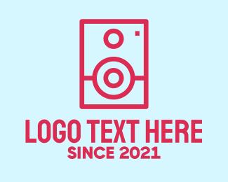 Monitor - Simple Baby Monitor logo design