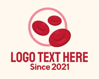 Surgeon - Red Blood Cells logo design