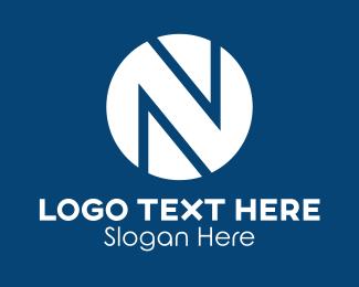 Brand - Circle Letter N logo design