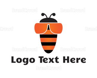 Sunglasses - Bee Goggles logo design