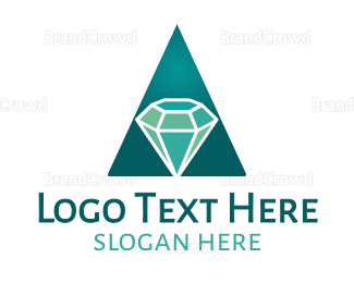 Mine - Amazing Diamond logo design