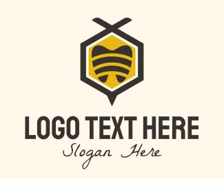 Root Canal - Hexagon Dentist  logo design
