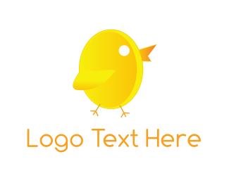 Little - Little Chicken logo design