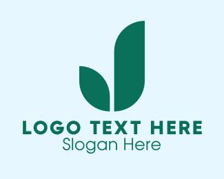 Plant Parent - Green Bud Plant logo design