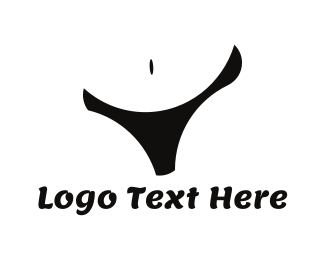 Swimwear - Black Lingerie logo design