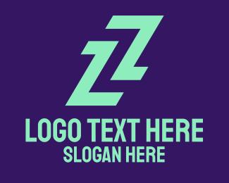 Uniform - Sporty Letter Z logo design