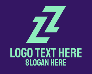 Letter Z - Sporty Letter Z logo design