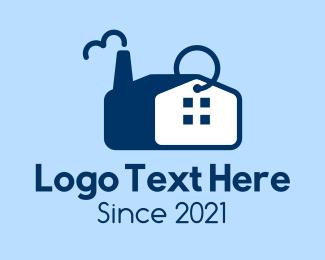 Factory - Factory Keyring  logo design